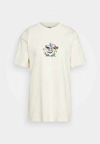 GARDEN - Print T-shirt - cream