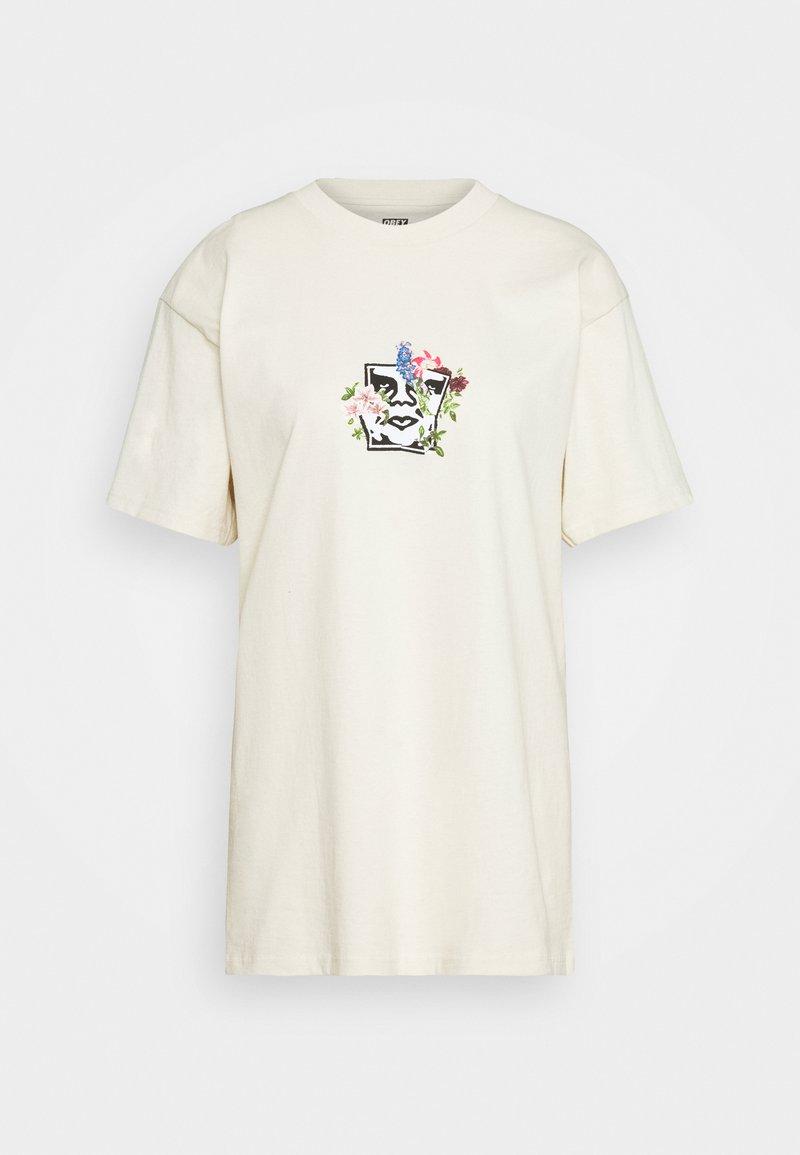 Obey Clothing - GARDEN - Printtipaita - cream