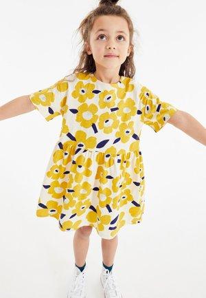 Day dress - mustard yellow