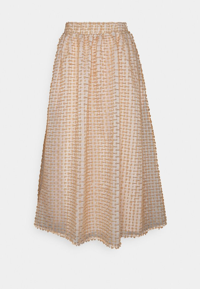 SLFDOSKY SKIRT - A-line skirt - white