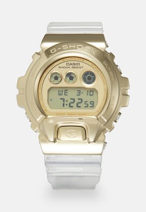GOLD-INGOT TRANSPARENT GM-6900SG UNISEX - Digital watch - gold-coloured/transparent