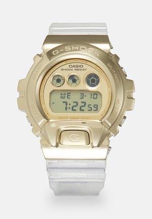 GOLD-INGOT TRANSPARENT GM-6900SG UNISEX - Orologio digitale - gold-coloured/transparent
