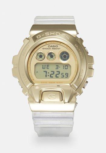 GOLD-INGOT TRANSPARENT GM-6900SG UNISEX - Digital watch - gold-coloured/transparent