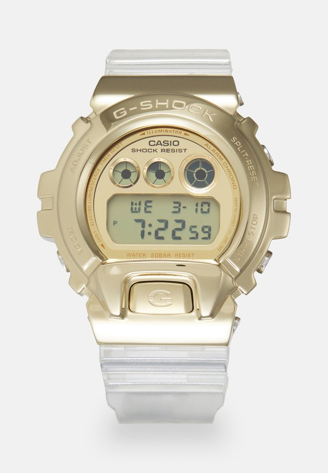 GOLD-INGOT TRANSPARENT GM-6900SG UNISEX - Digitaluhr - gold-coloured/transparent