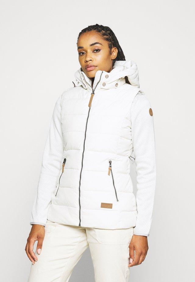 ALEXANDRIA - Waistcoat - natural white