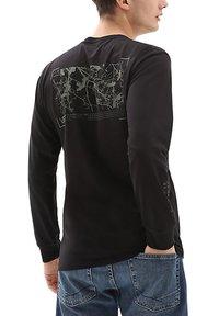 Vans - MN 66 SUPPLY LS - Print T-shirt - black - 1