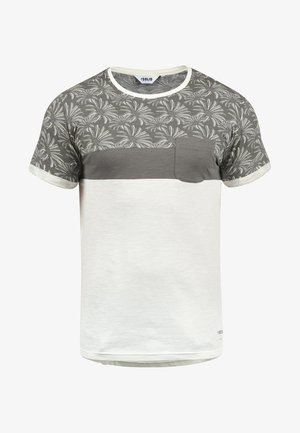 FLORIAN - T-shirt con stampa - mid grey