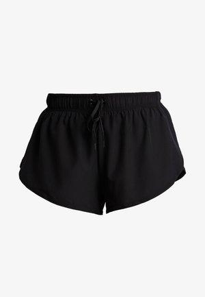 MOVE JOGGER SHORT - Pantalón corto de deporte - black/ mid grey marl