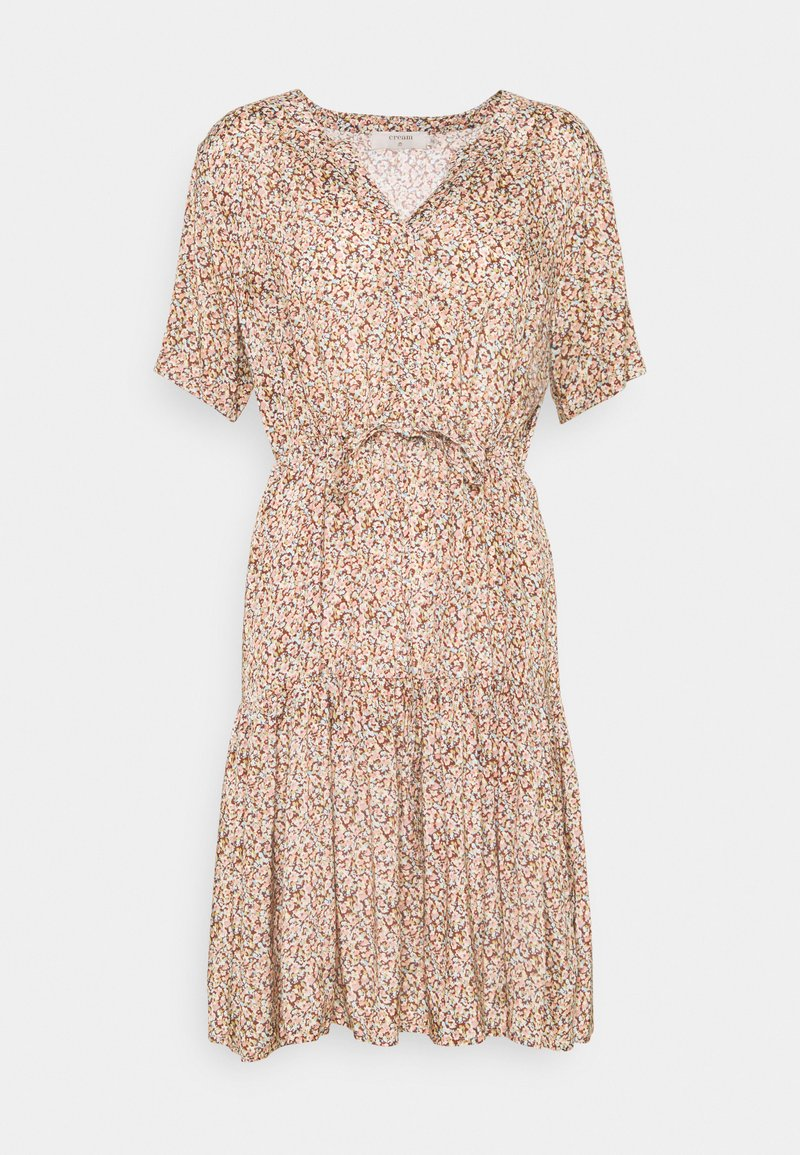 Cream - JULIA DRESS - Shirt dress - brown