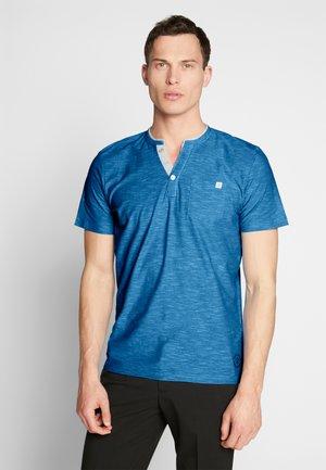 HENLEY - Basic T-shirt - blue