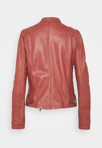 Oakwood - TERRY - Kožená bunda - old pink - 6
