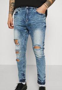 Night Addict - Jeans slim fit - acid wash - 3