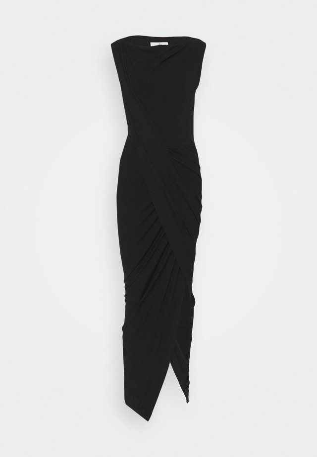 VIAN DRESS - Trikoomekko - black