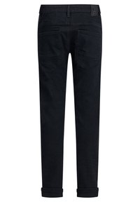 WE Fashion - REGULAR FIT - Slim fit jeans - black - 1