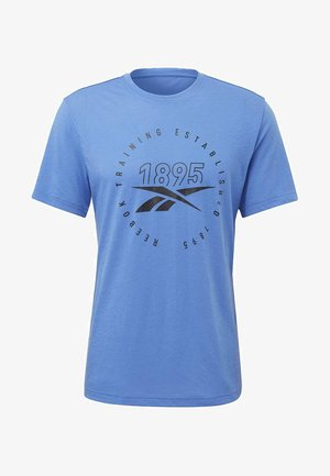 GRAPHIC SERIES SPEEDWICK TEE - Print T-shirt - blue