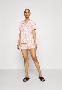 s.Oliver - SHORTY  - Pyjama set - ecru - 1