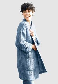 Dress In - Cardigan - rauchblau - 0