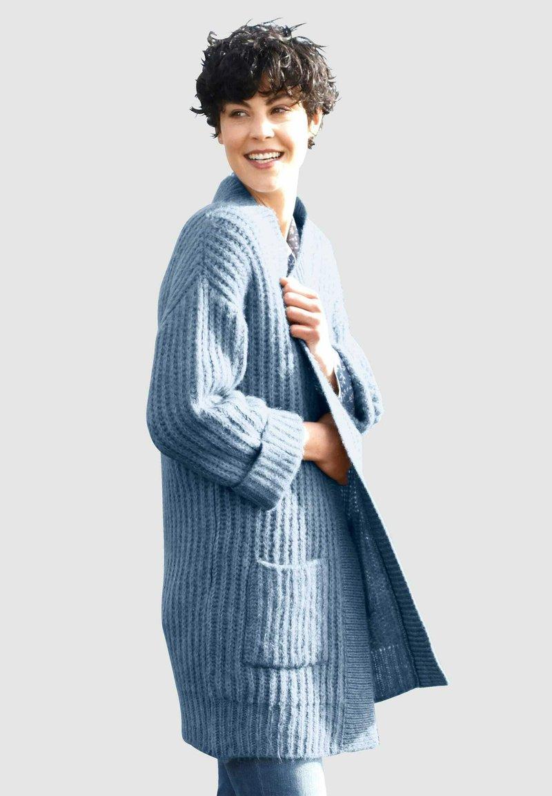 Dress In - Cardigan - rauchblau