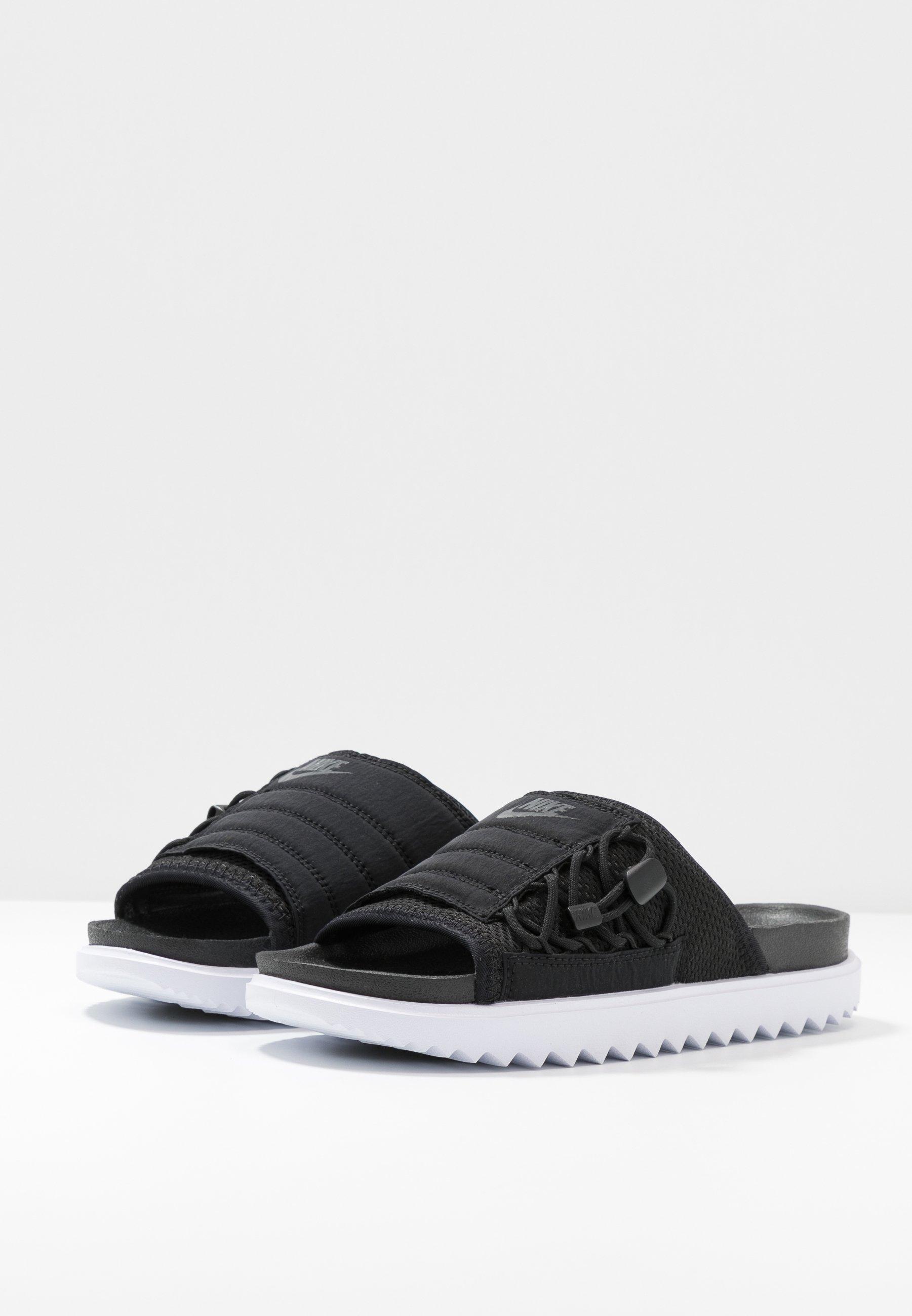 Nike Sportswear City Slide - Sandaler Black/anthracite/white