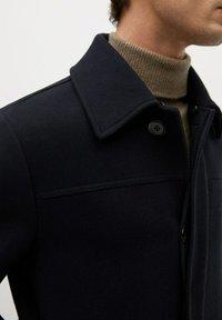 Mango - LANZA - Short coat - dark navy - 4