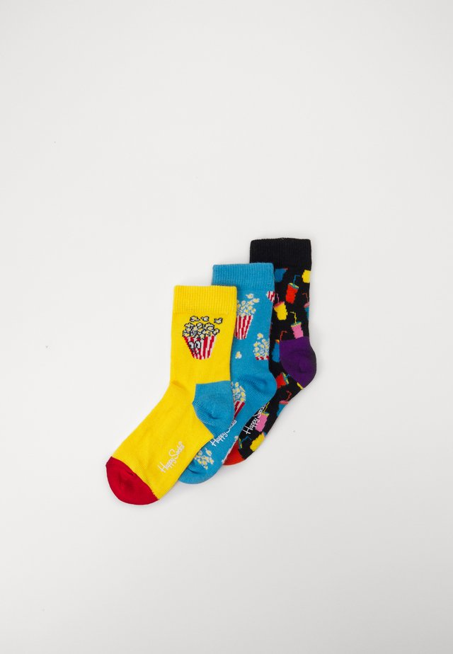 POPCORN SODA SOCKS GIFT SET 3 PACK UNISEX - Socks - multicoloured