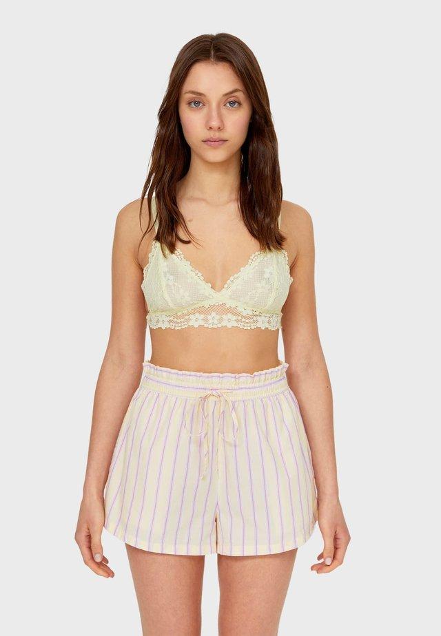 Pyžamový spodní díl - light yellow