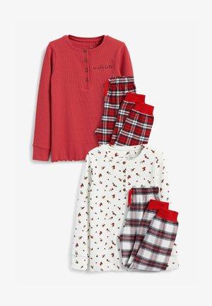 2 PACK  - Pyjama set - red
