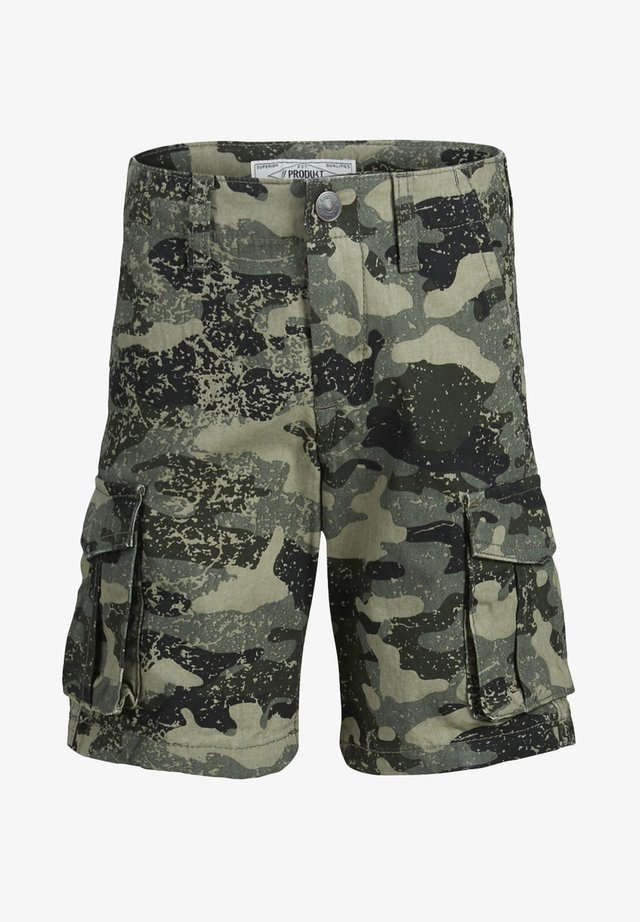 CARGOSHORTS JUNIOR - Shorts vaqueros - beetle