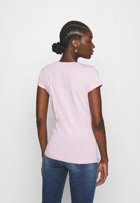 Replay - 2 PACK - T-shirt basic - natural white/quartz rose - 2