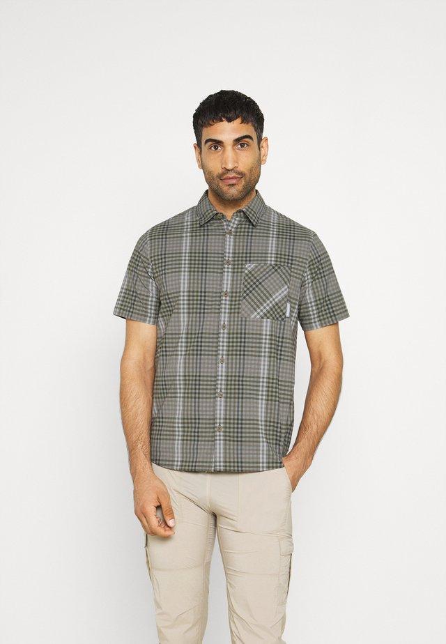 CALANCA MEN - Overhemd - tin/iguana