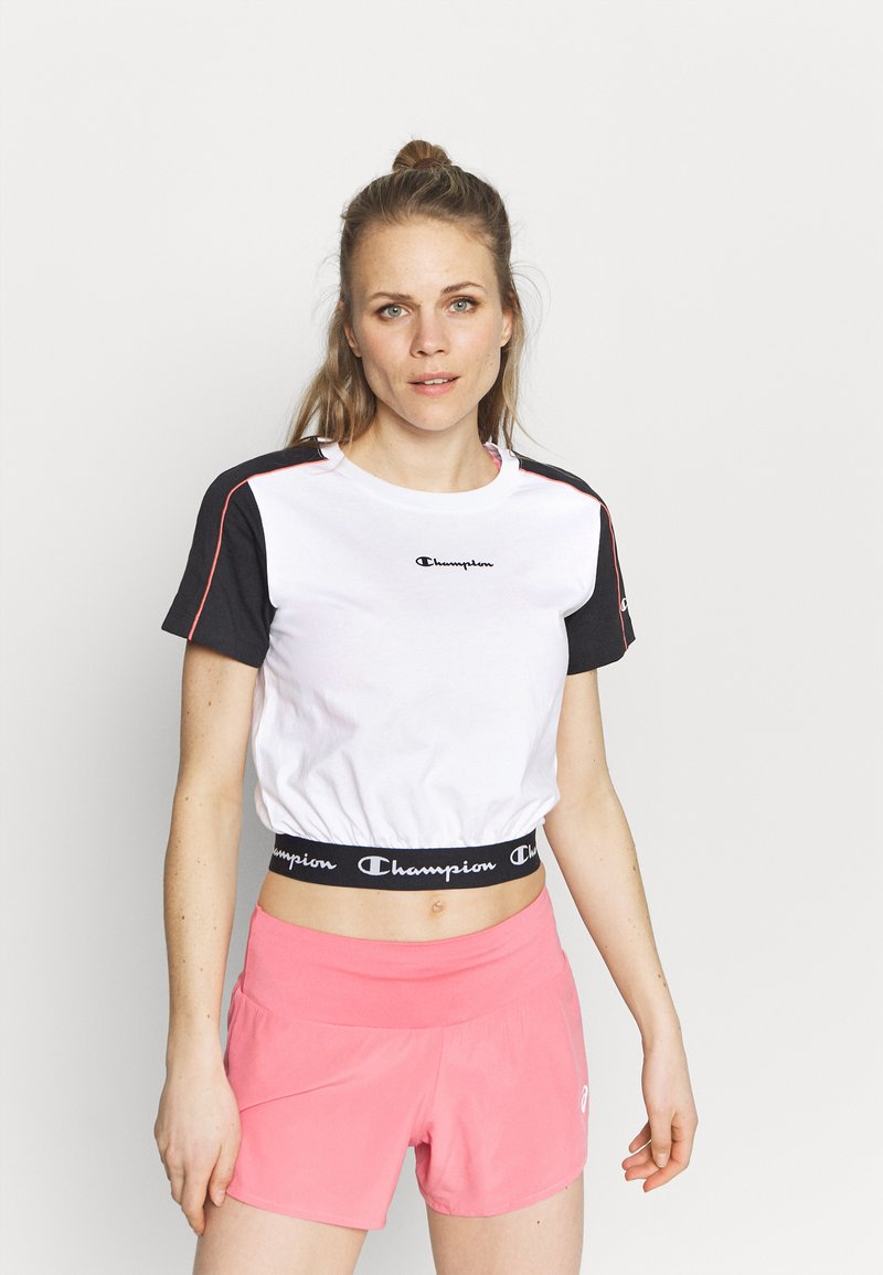 Champion - Camiseta estampada - white