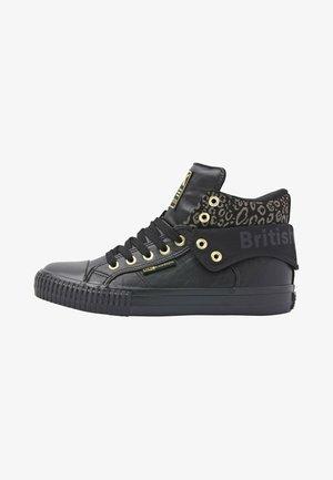 ROCO - Sneakers hoog - black/gold leopard