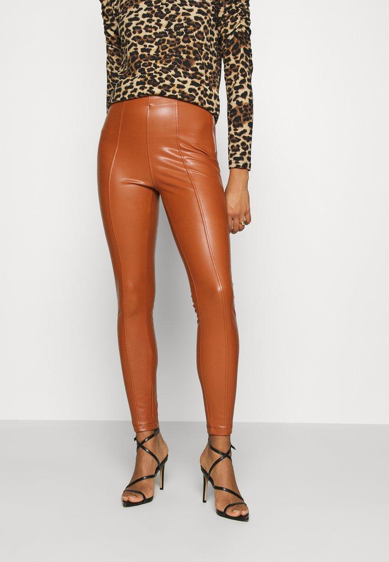 New Look - Leggings - Hosen - rust