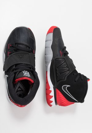 KYRIE 6 - Basketbalové boty - black/university red/white