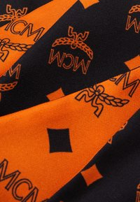 MCM - MONOGRAM SILK PETITE SCARF - Foulard - persimmon orange - 2