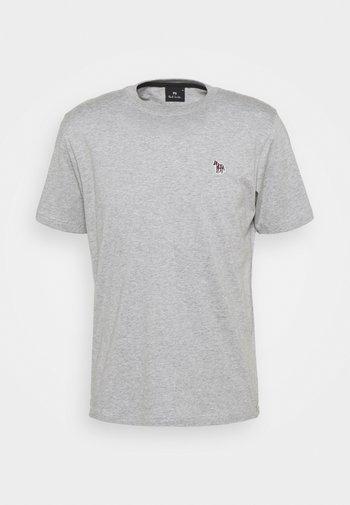 MENS REG FIT ZEBRA - T-shirt basique - grey