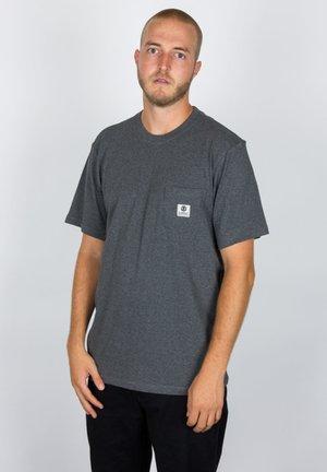 Basic T-shirt - charcoal heather