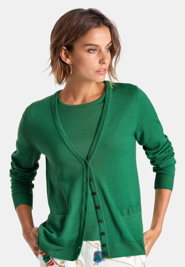 TWINSET  - Cardigan - moosgruen