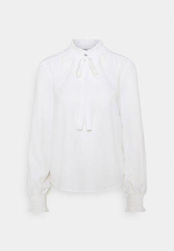 ONLRIGIE HIGHNECK - T-shirt à manches longues - cloud dancer