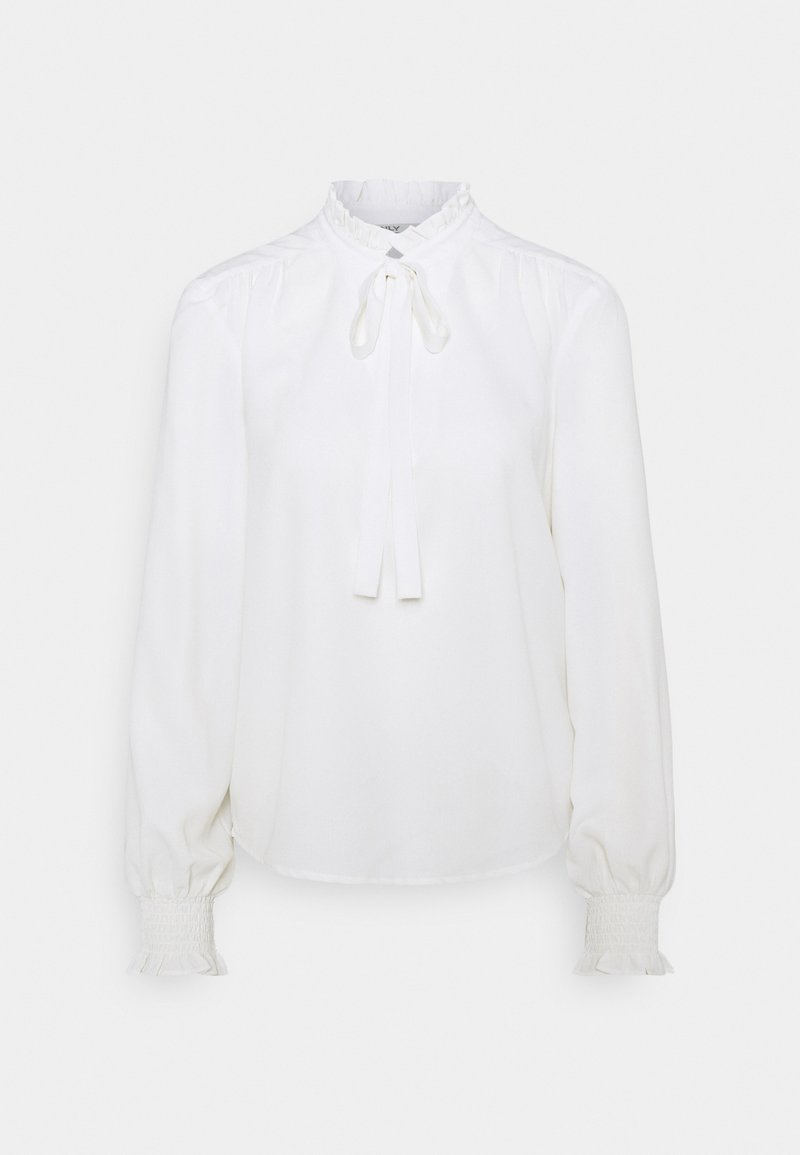 ONLY - ONLRIGIE HIGHNECK - Long sleeved top - cloud dancer