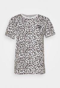 CLASSICS LOGO TEE - T-shirt imprimé - vaporous gray