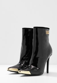 Versace Jeans Couture - HIGHT TOP STILETTO  - High heeled ankle boots - nero - 4