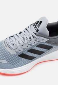 adidas Performance - DURAMO  - Trainings-/Fitnessschuh - halo silver/solar red - 5