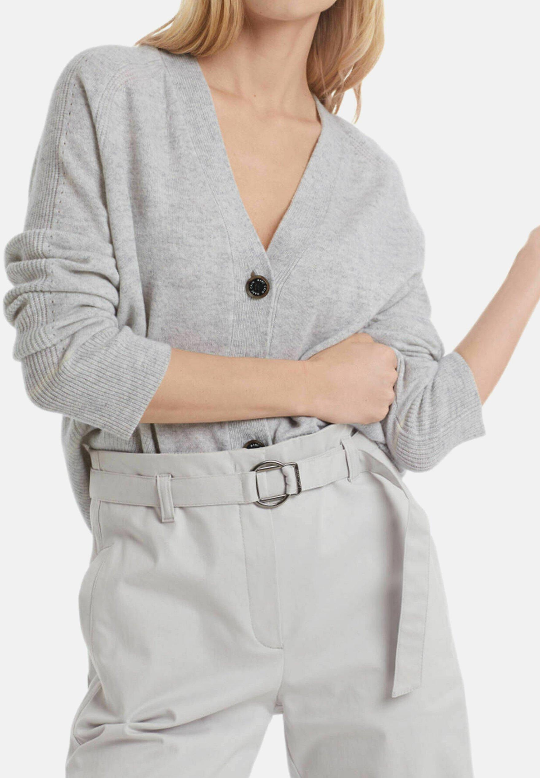 Damen Strickjacke - grau