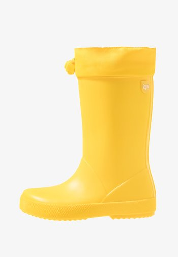 SPLASH COLE UNISEX - Holínky - amarillo/yellow