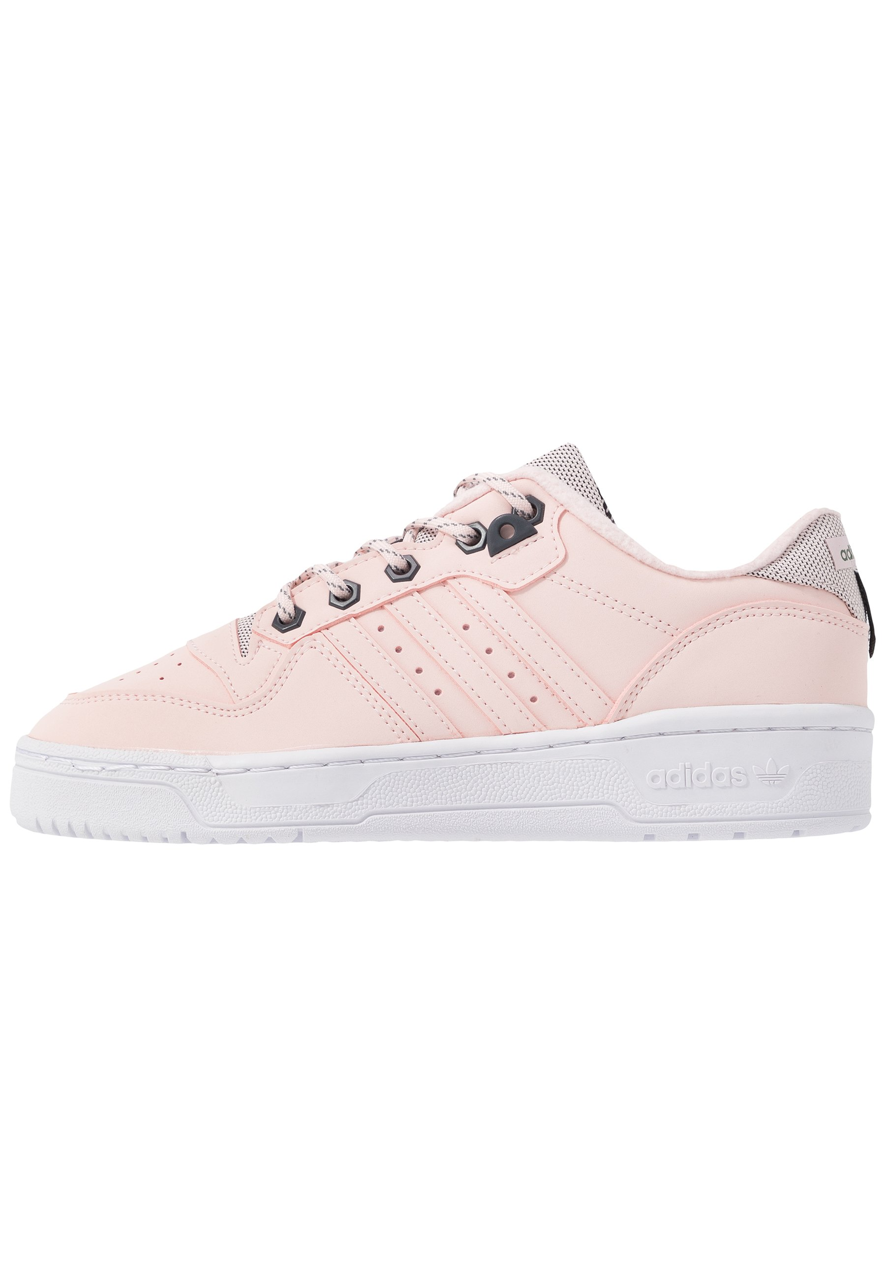 Womens Pale Pink adidas Adi Rivalry Low Trainers   schuh