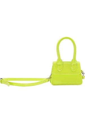 Kabelka - neon grün