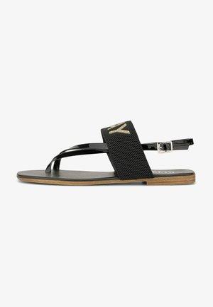 MERYVILLE - T-bar sandals - gold