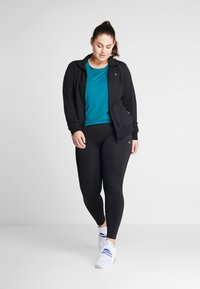 ONLY Play - ONPGILL TRAINING CURVY OPUS - Punčochy - black - 1