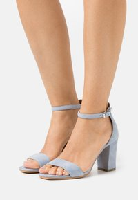 Steven New York - JUDY - Sandals - light blue - 0